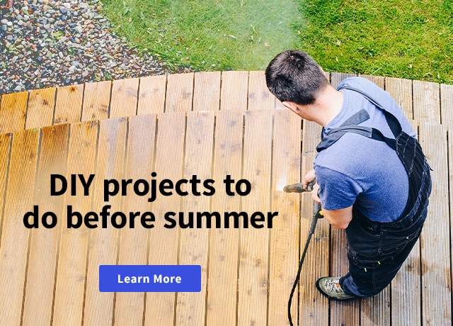DIY Projects to do before summer