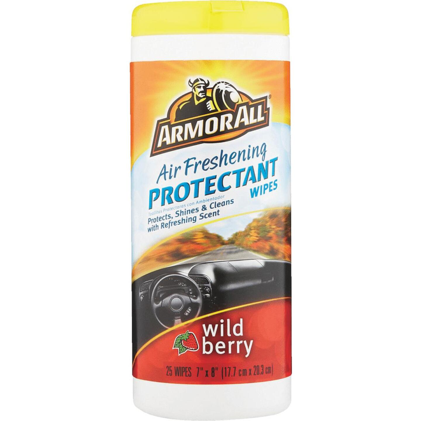 Armor All Wild Berry Scent Protectant Wipe Image 2