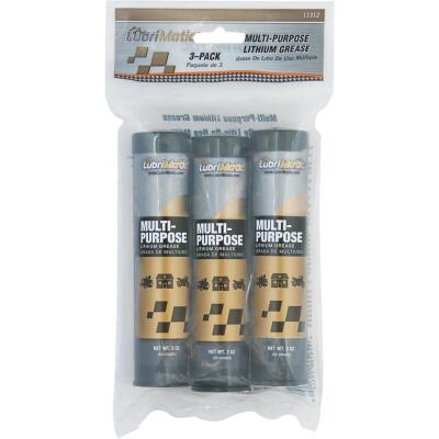 LubriMatic 3 Oz. Cartridge Multi-Purpose Lithium Grease (3-Pack)