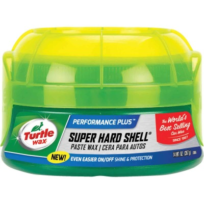 Turtle Wax Super Hard Shell Paste 14 Oz. Car Wax