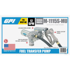 GPI 115V AC, 12 GPM Stationary Fuel Transfer Pump Image 2