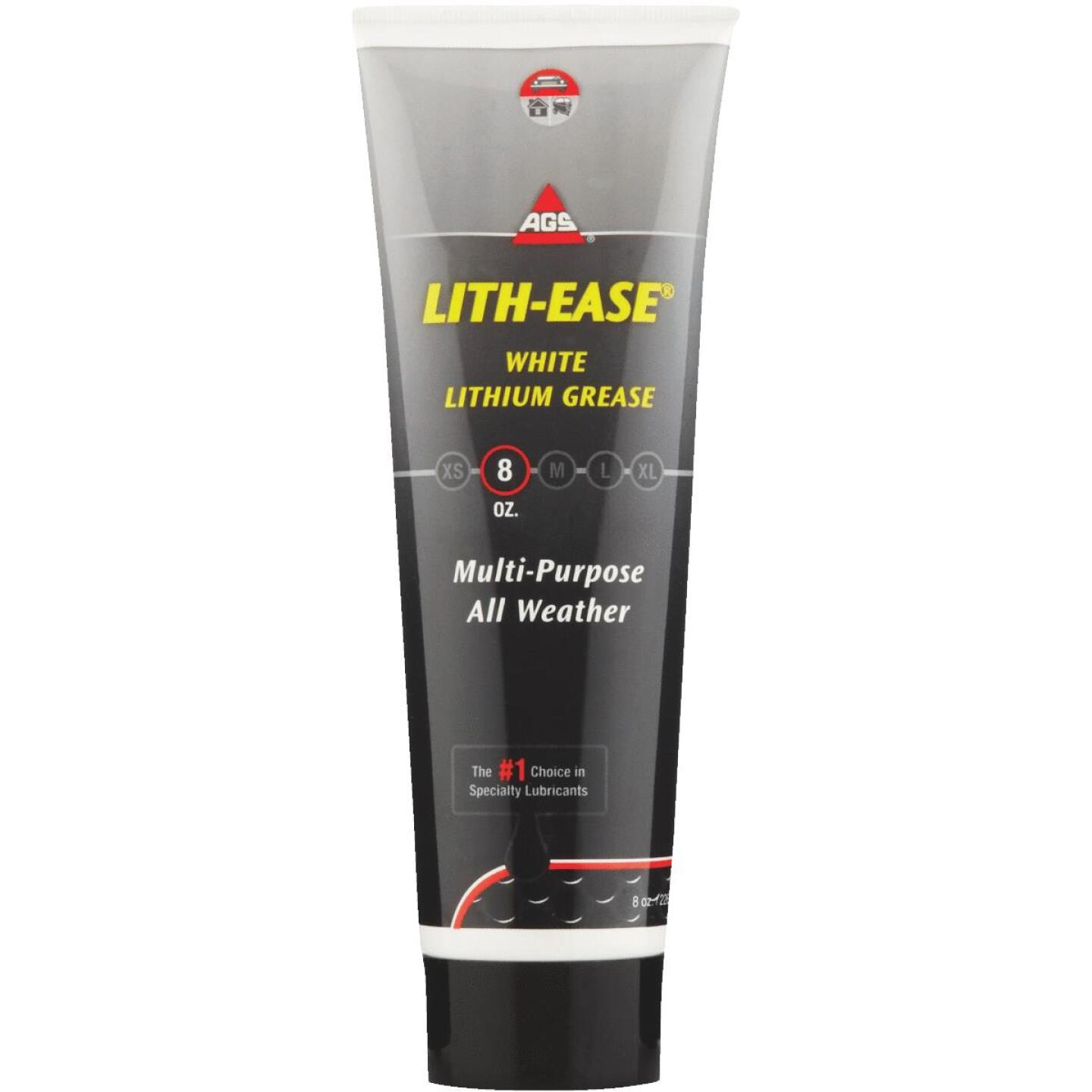 AGS Lith-Ease 8 Oz. Tube White Lithium Grease Image 1