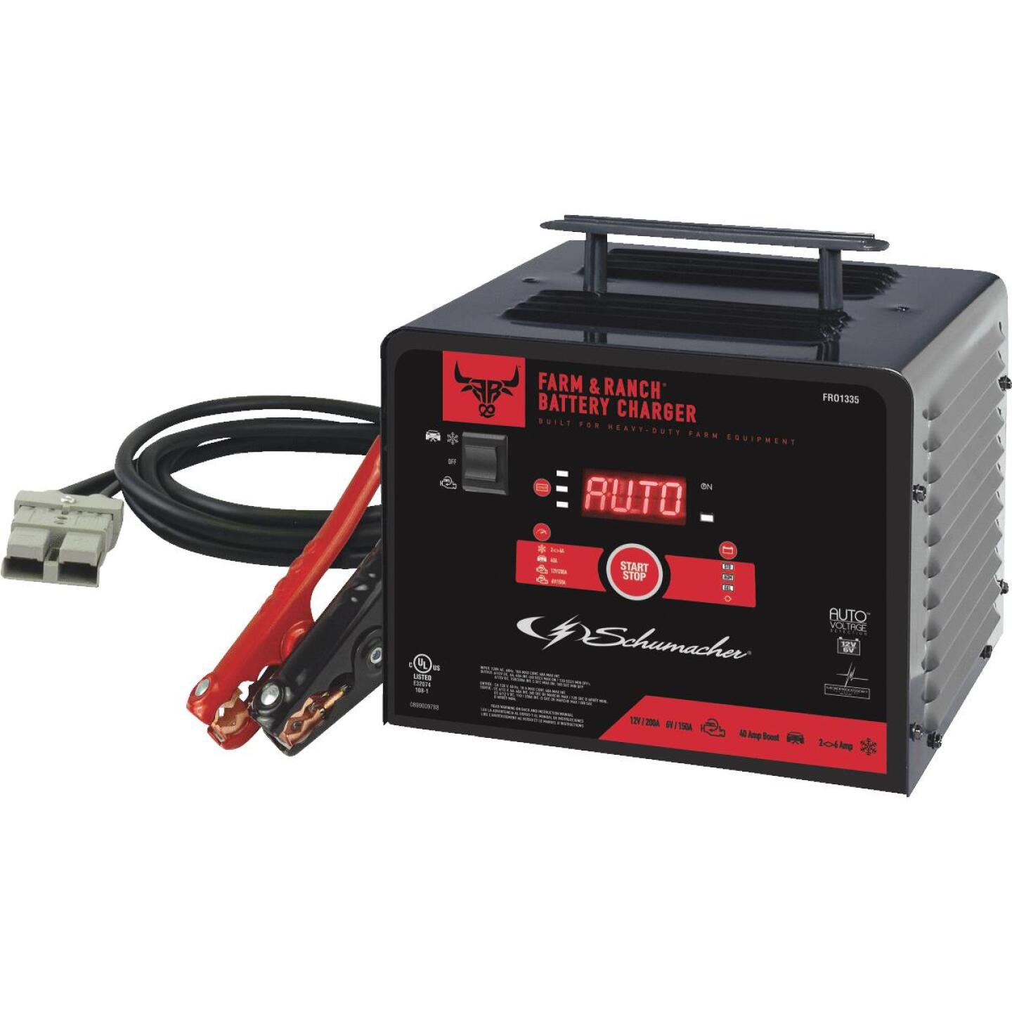 Schumacher 200 Amp Manual Battery Charger Image 1