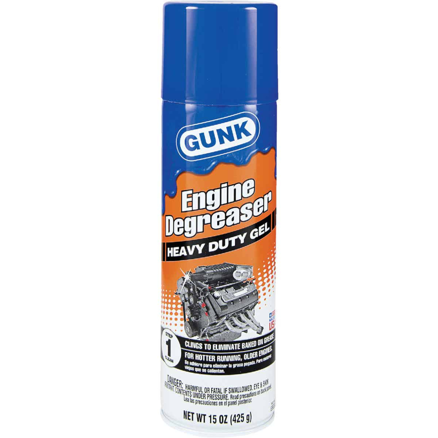 Gunk 15 Oz. Gel Engine Cleaner/Degreaser Image 1