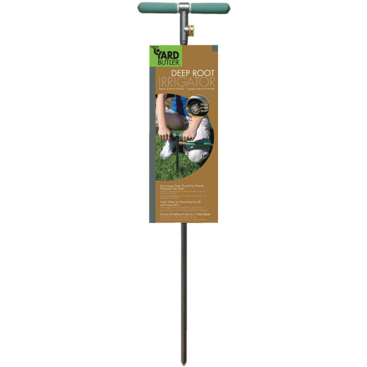 "Yard Butler 10"" W x 37"" H x 1"" D Steel Tree/Shrub Watering Tool"
