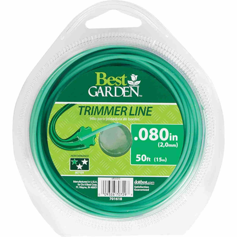 Best Garden 0.080 In. x 50 Ft. Round Trimmer Line Image 1