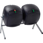 Lifetime Products Black Dual Composter (100-Gallon) Image 1