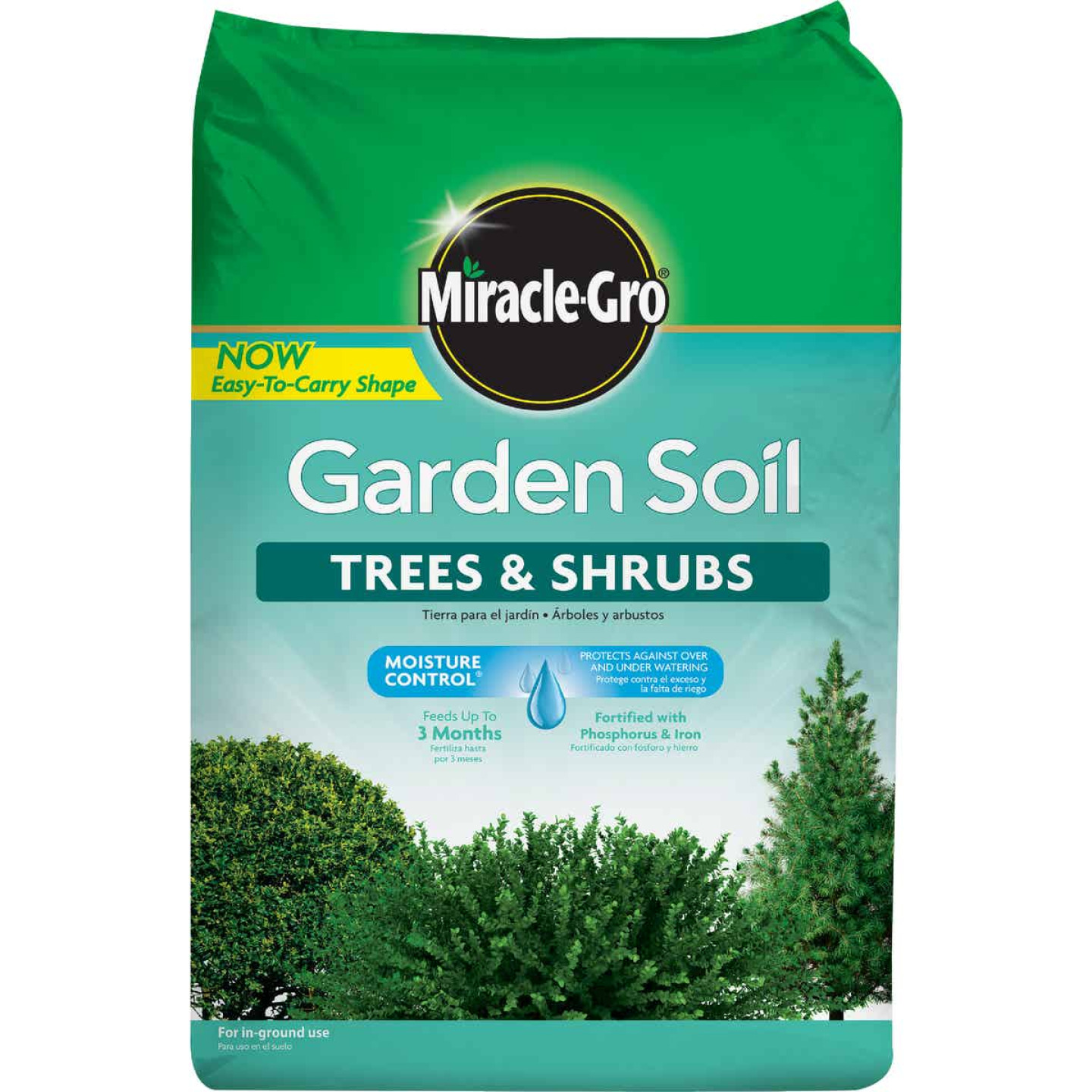 Miracle-Gro 1.5 Cu. Ft. 49 Lb. In-Ground Trees, Shrubs Garden Soil Image 1