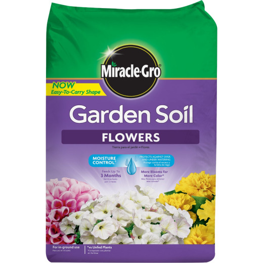 Miracle-Gro 1.5 Cu. Ft. 49 Lb. Flower Garden Soil