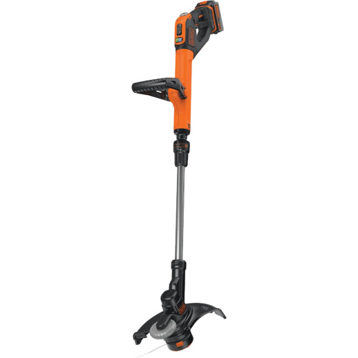 Black & Decker EasyFeed 20V MAX 12 In. Lithium Ion Straight Cordless String Trimmer/Edger
