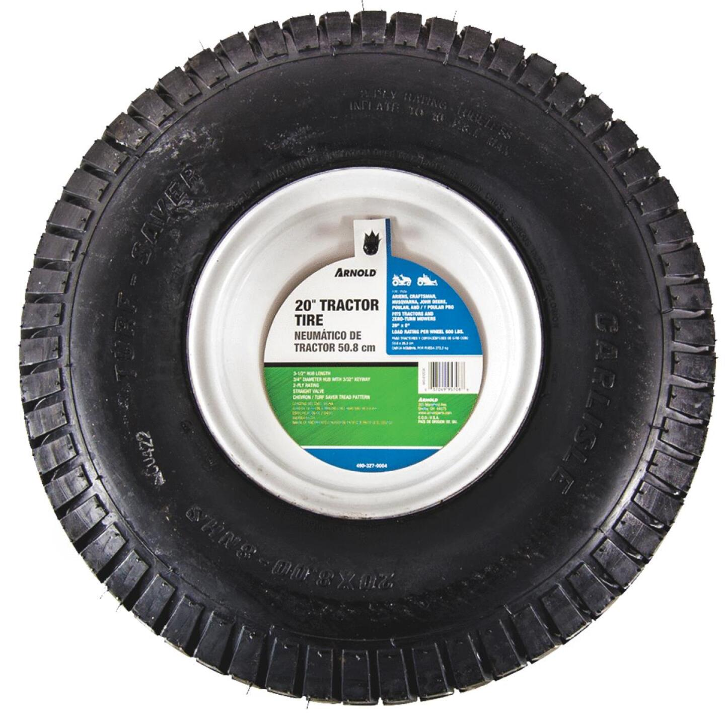 Arnold 20 In. x 8 In. - 8 In. Tractor Wheel Image 1