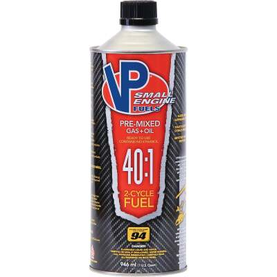 VP Small Engine Fuels 32 Oz. 40:1 Ethanol-Free Gas & Oil Pre-Mix