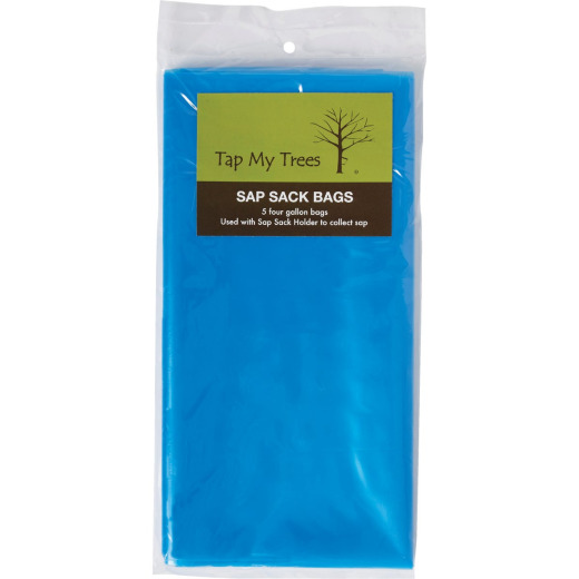 Tap My Trees Maple Sugaring Plastic Sap Sack (5-Pack)
