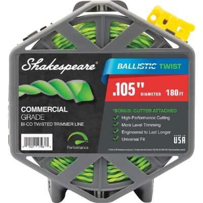 Shakespeare 0.105 In. x 180 Ft. Ballistic Twist Universal Trimmer Line