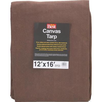 Do it Best 10 Oz. 12 Ft. x 16 Ft. Canvas Tarp