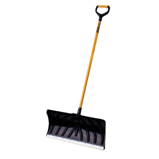 Suncast 24 In. Poly Snow Pusher with 45 In. Steel Handle