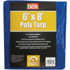 Do it Best Blue Woven 6 Ft. x 8 Ft. General Purpose Tarp Image 1