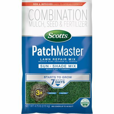Scotts PatchMaster 4.75 Lb. 115 Sq. Ft. Coverage Sun & Shade Grass Patch & Repair