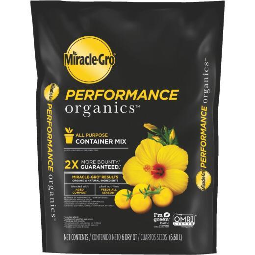 Miracle-Gro Performance Organics 6 Qt. 6 Lb. All Purpose Container Potting Soil
