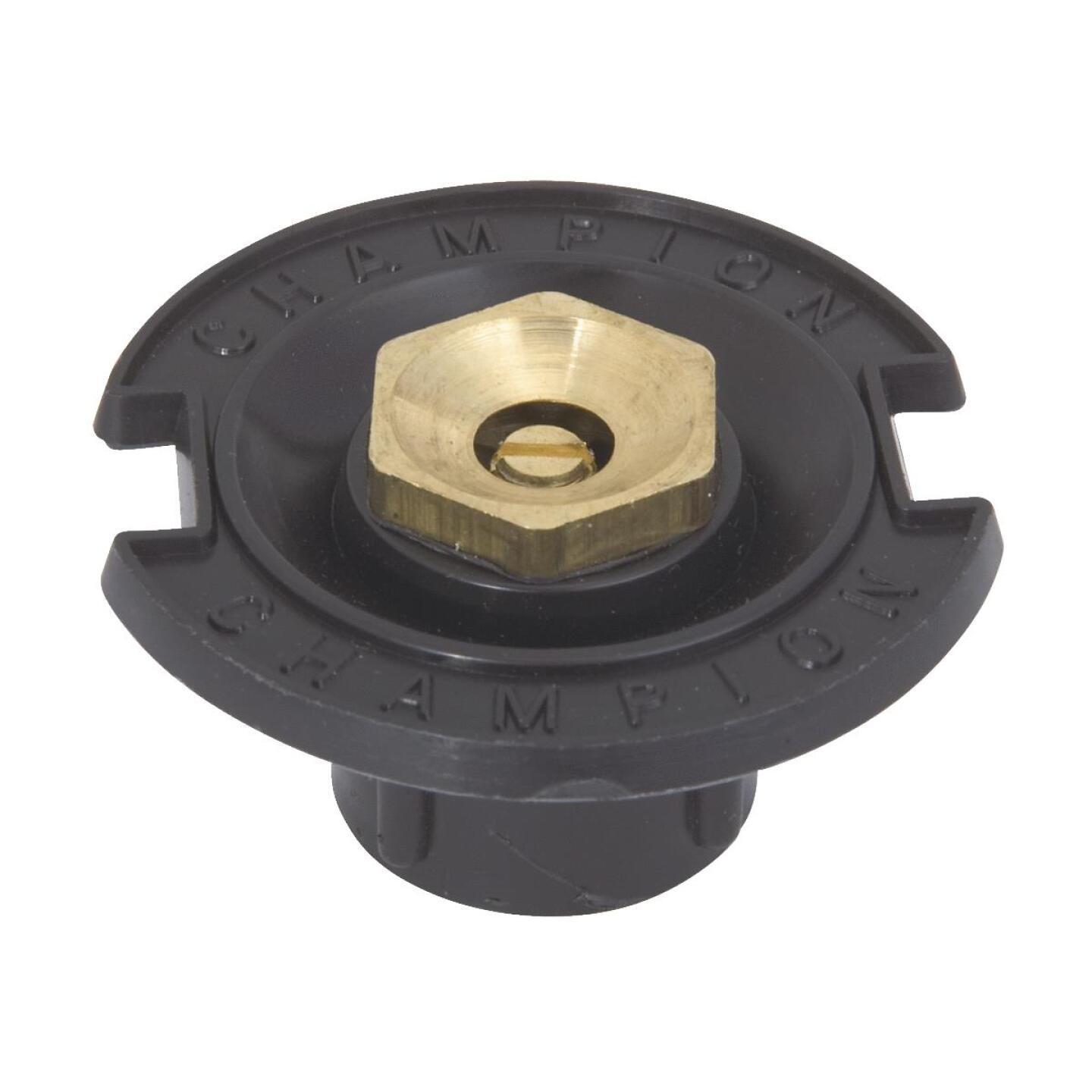 Champion Half Circle 1/2 In. FPT Deluxe Plastic Flush Head Sprinkler with Brass Nozzle Image 1