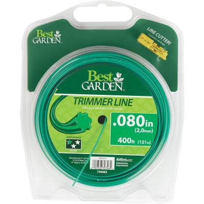 Best Garden 0.080 In. x 400 Ft. 7-Point Trimmer Line