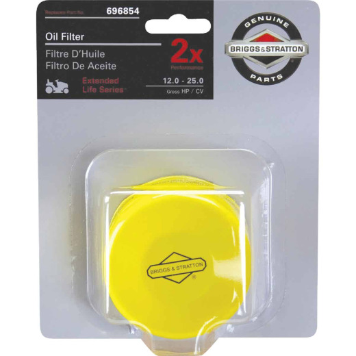 Briggs & Stratton 696854 Extended Life Series Oil Filter