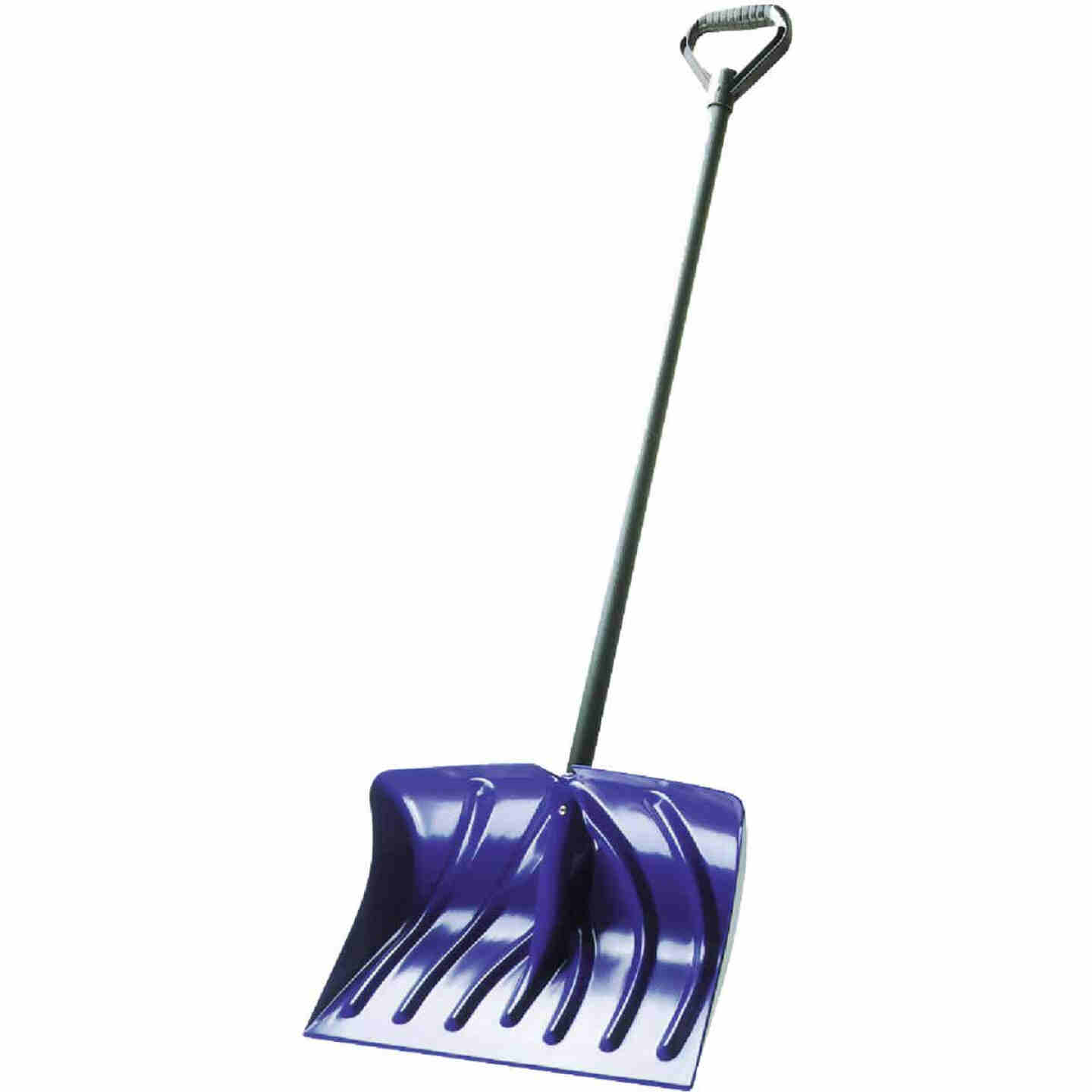 Suncast 18 In. Poly Snow Shovel with 39 In. Steel Handle Image 1
